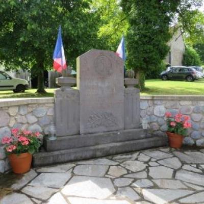 commémorations de Manérol